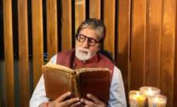 Amitabh Bachchan gets emotional as he reminisces father Harivansh Rai Bachchan's poem. Watch video