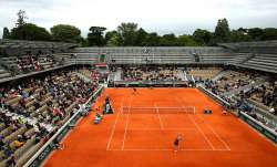 Not Sunday at the French Open. Nobody was there. Maybe they