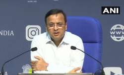 Luv Agarwal, the joint secretary at the health ministry, at