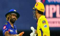 Lasith Malinga and MS Dhoni