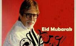 Amitabh Bachchan sends heartfelt Eid greetings: Prayers on this auspicious day for peace