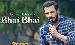 Salman Khan wishes fans 'Eid Mubarak' by releasing his latest song Bhai Bhai. Watch video