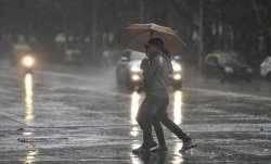 Rain, thunderstorms