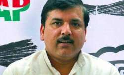 AAP's Sanjay Singh sending 33 migrants home with flight tickets from MP quota