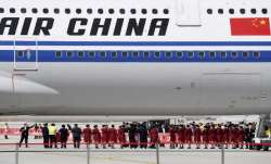A representational image of an Air China plane at Beijing