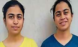 class 12 results, mansi manya noida, noida identical twins, noida twins class 12 results,
