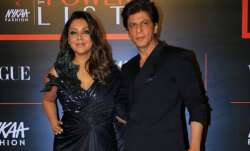 Shah Rukh Khan asks wife Gauri Khan to refurbish his office ceiling