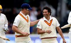 aaron finch, sachin tendulkar, mcc vs row 2014, lords bicentenary celebrations match