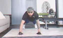Watch | Virat Kohli nails Hardik Pandya's fly push-ups with added clap