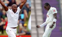 jofra archer, tino best, jofra archer vs tino best, jofra archer england