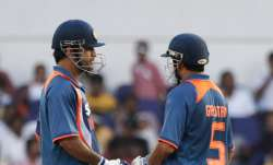 Remember sleeping on the floor: Gautam Gambhir recalls 'great moment' with MS Dhoni