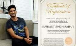 Shine bright Sushant Singh Rajput! Fan names a star after the late actor
