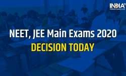 JEE NEET postponement, ramesh pokhriyal nishank announcement, HRD Minister Ramesh Pokhriyal Nishank