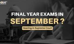 UGC guidelines final year exams, UGC hearing final year exams, cancel final year exams, ugc hearing