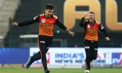 Rashid Khan david warner ipl 2020 srh