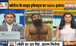 Yoga tips to deal with side-effects of coronavirus by Swami Ramdev