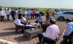 New Film City in Noida: High-level team visits proposed land at Yamuna Expressway