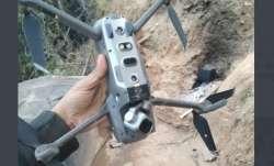 pakistan quadcopter shot down, indian army shots down pak army quadcopter, jammu and kashmir keran,
