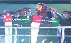 Former Pak Prime Minister Nawaz Sharif's daughter and Pakistan Muslim League-Nawaz (PML-N) Vice Pres