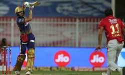 Live Score Kolkata Knight Riders vs Kings XI Punjab IPL 2020: Gill, Morgan rebuild KKR's innings