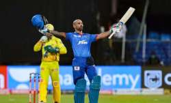 Shikhar Dhawan breached the three-figure mark in T20s on