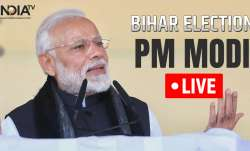 Bihar Assembly election 2020 Live: PM Narendra Modi
