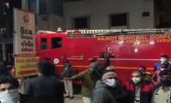 Gujarat: 5 COVID-19 patients killed as fire breaks out at Rajkot hospital