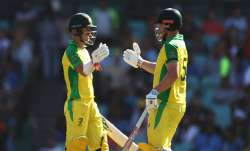 David Warner Aaron Finch