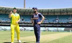 Live Cricket Score India vs Australia 1st ODI 2020: