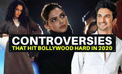 Sushant Singh Rajput's death to Deepika's JNU visit, controversies that hit Bollywood hard