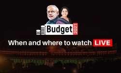 Budget 2021, Nirmala Sitharaman, where to watch LIVE