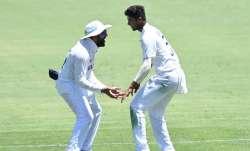 Washington Sundar and Rohit Sharma
