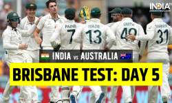 India vs Australia 4th Test Day 5: Follow Updates from