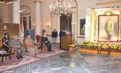 Bengal Governor Jagdeep Dhankhar unveils Netaji portrait at Raj Bhavan