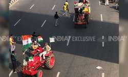 First death farmer dies tractor overturns Delhi violence police tractor parade republic day, A prote