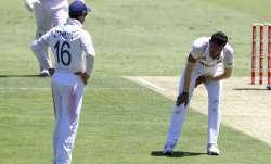 Navdeep Saini injured himself during day 1 of 4th Test