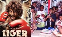 Vijay Deverakonda gets 'happy emotional' after fans response to Liger's first poster; watch video
