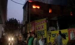 Fire at cosmetics factory in Delhi's Pratap Nagar, one dead