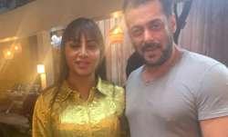 Arshi Khan reveals Salman Khan's reaction to her Lady Gaga inspired dress