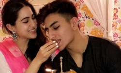 Sara Ali Khan and her brother Ibrahim