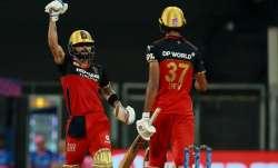 Virat Kohli and Devdutt Padikkal, IPL 2021, IPL 2021 RCB vs RR