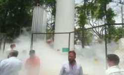 Oxygen tanker leakage, nashik news