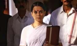 Thalaivi poster festuring Kangana Ranaut