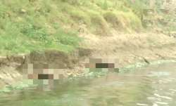 UP: Bodies wash up on shores of river Ganga in Ghazipur