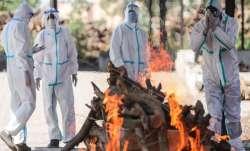 Crematorium workers, frontline warriors, Gujarat, coronavirus pandemic, covid second wave, corona st