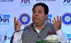 BCCI vice-president Rajeev Shukla