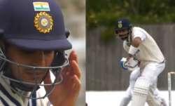 Shubman Gill (Left) and skipper Virat Kohli, WTC Final, India vs New Zealand