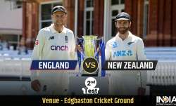 England vs New Zealand 2nd Test Day 2: Follow live updates from ENG vs NZ 2nd Test Day 2 at Edgbasto