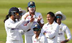ENG W vs IND W   Indian bowlers rally after Heather Knight's 95 on Day 1