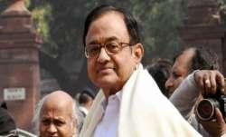 Senior Congress leader P Chidambaram slams govt for